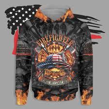 Badass version firefighter first in last out all over print hawaiian shirt