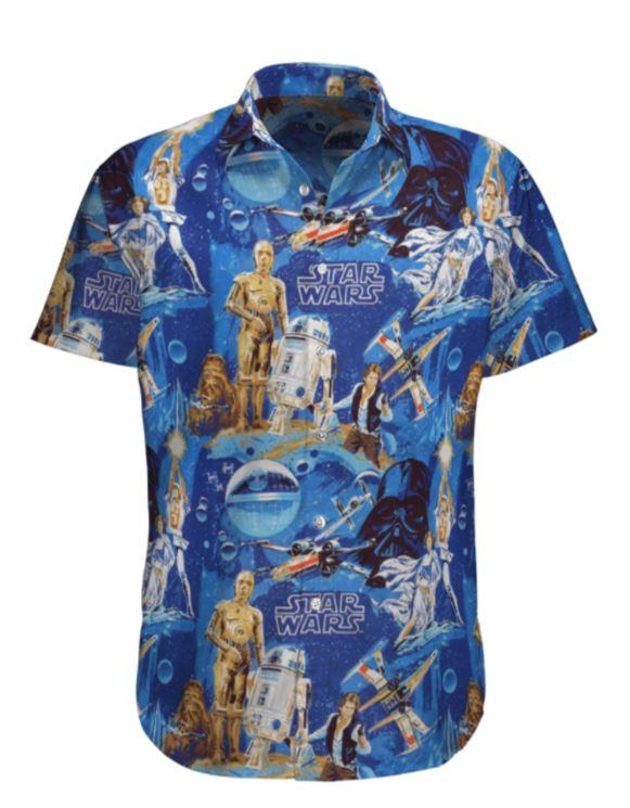 Star wars C-3PO Hawaiian Shirt