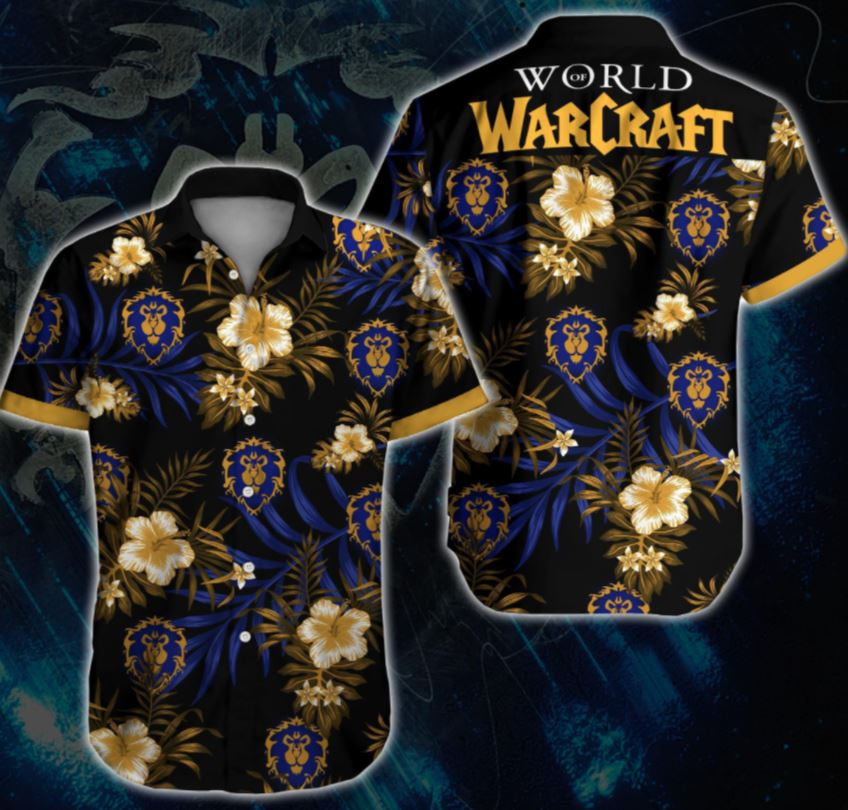 WOW World Of Warcraft War Hawaii Shirt