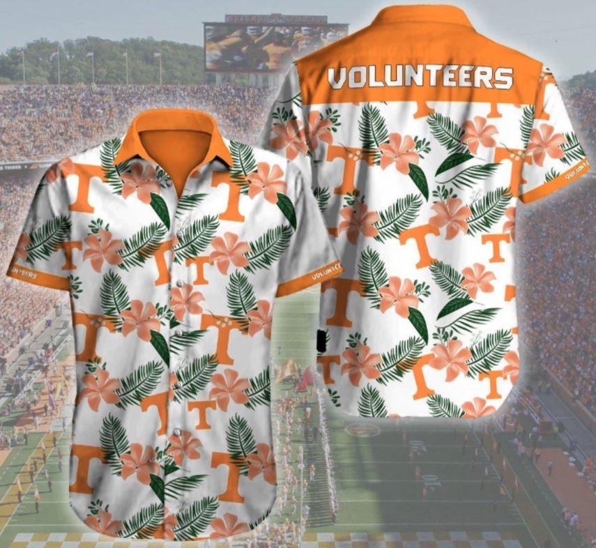Tennessee Volunteers Hawaii Logo 3d Hawaii Shirt