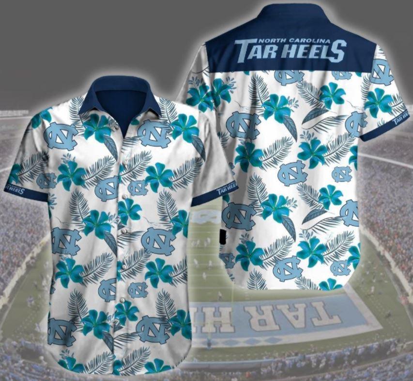 North Carolina Tar Heels Basketball Hawaii Shirt