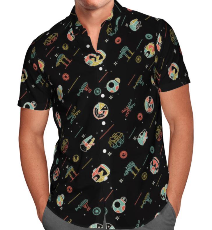 SW Small Animation Paradigm Hawaiian shirt