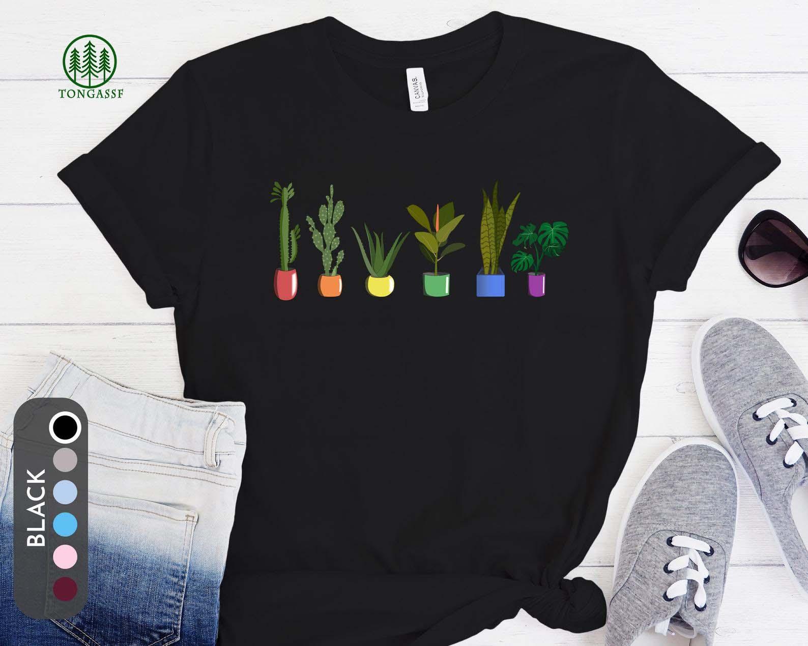 TongassF LGBTQ Plant Shirt