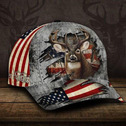 Deer hunting crack iron classic cap