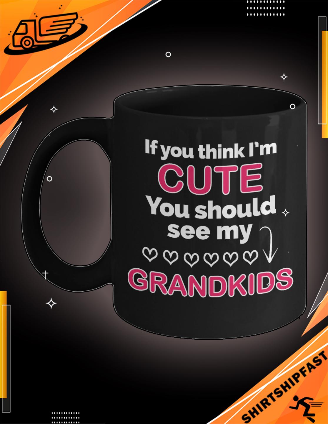 If you think I'm cute you should see my grandkids mug