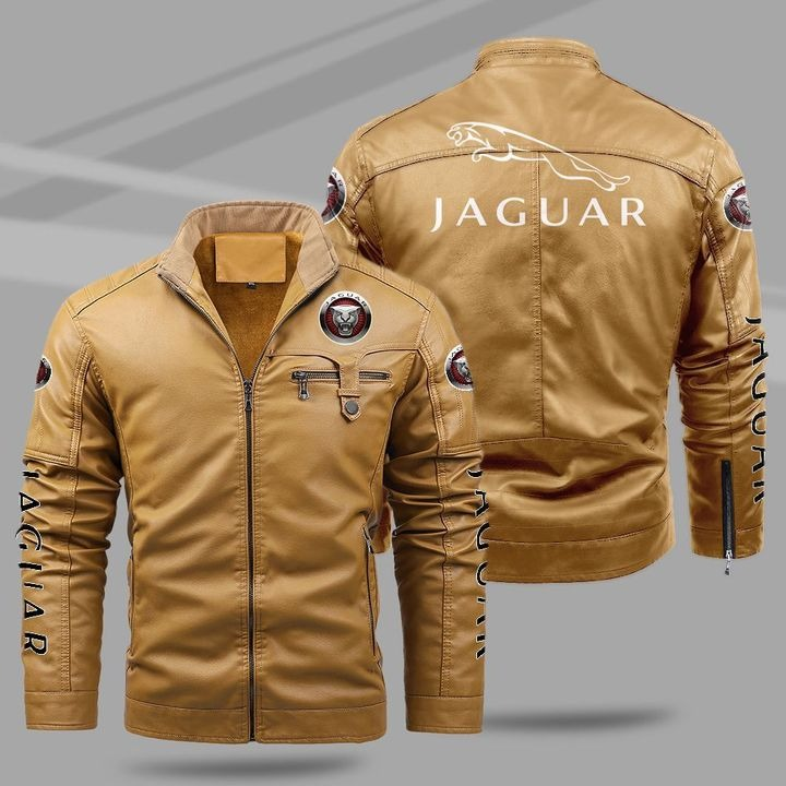 Jaguar Fleece Leather Jacket 1